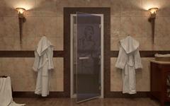 Двери для хамама и паровых кабин