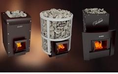 Дровяные печи каменки для бани и сауны Grill'D