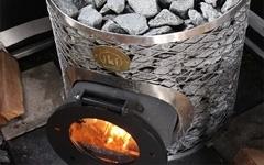 Дровяные печи каменки для бани и сауны IKI