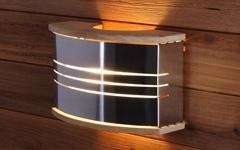 Светильники и абажуры для бани и сауны