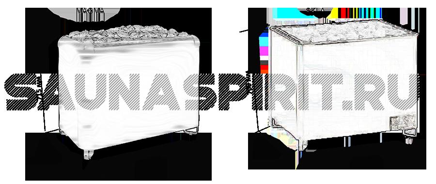 Технические характеристики печи-каменки для сауны Helo SKLA 260